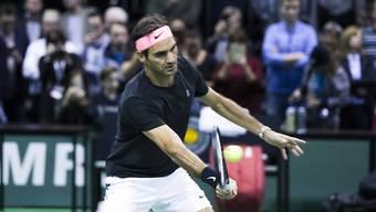 Roger Federer ist in Rotterdam furios gestartet