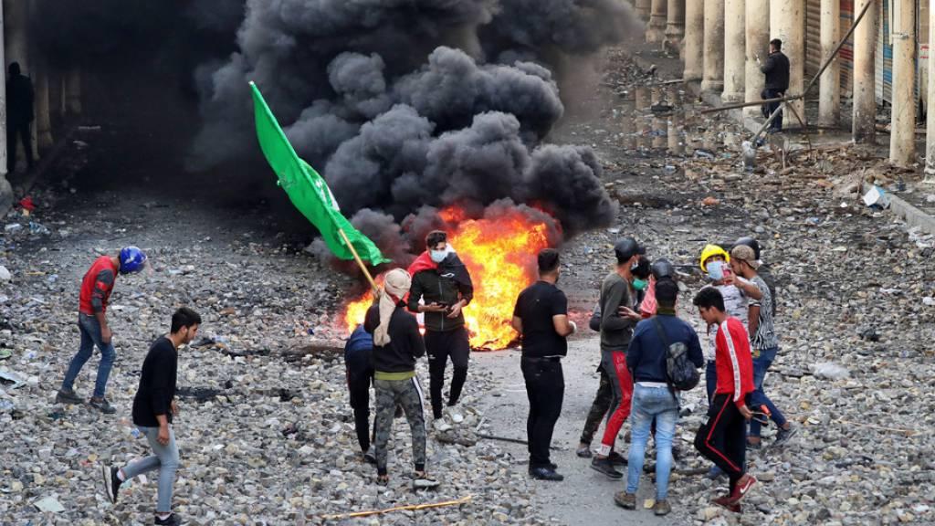 Justizrat ordnet nach Protesten mit Toten im Irak Untersuchung an