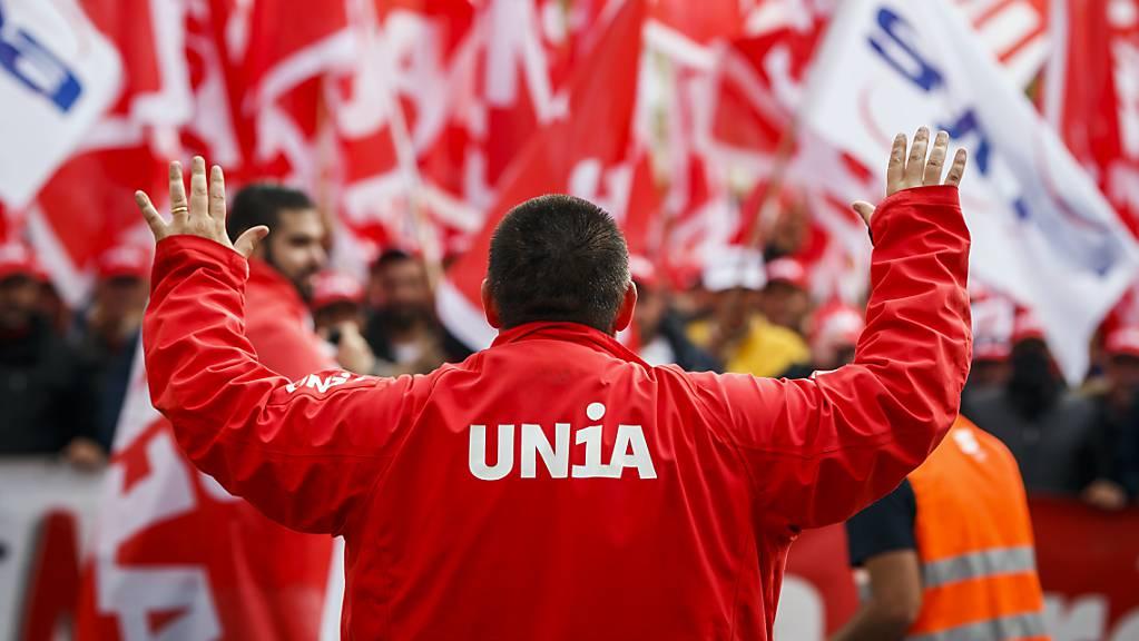 Die Unia ist mit über 180'000 Mitgliedern die grösste Arbeitnehmerorganisation der Schweiz. (Archivbild)