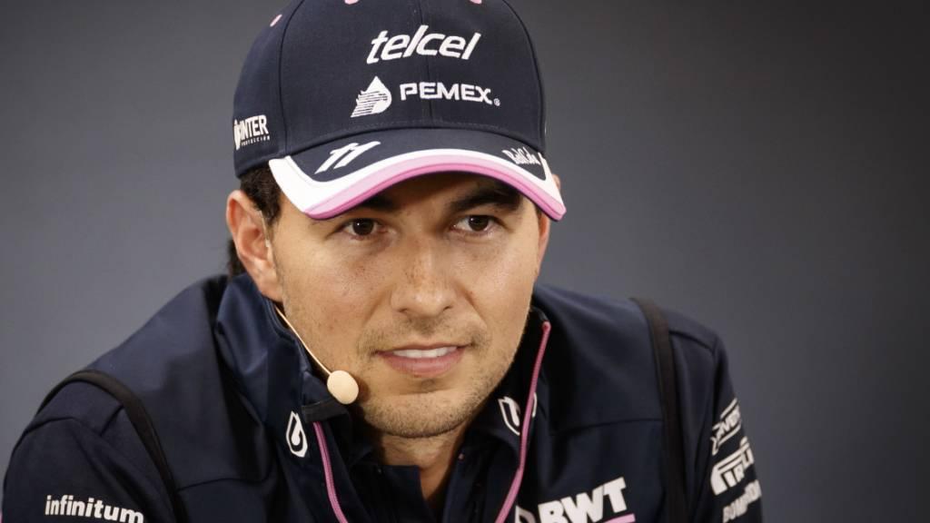 Perez erneut auf das Coronavirus getestet