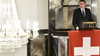 SNB-Präsident Thomas Jordan spricht am Ustertag