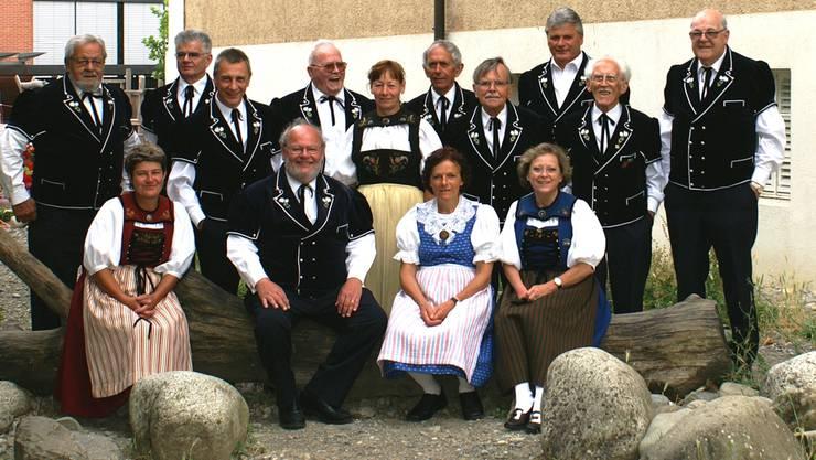 Der Jodelklub Edelweiss aus Untersiggenthal sucht weitere Mitglieder.ZVG