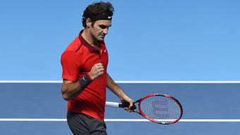 Roger Federer steht durch die Aufgabe von Raonic bereits im Halbfinal.