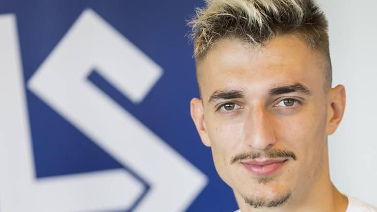 Aldin Turkes traf in dieser Saison schon viermal für Lausanne-Sport.