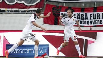 Marco Streller (links) und Shkelzen Gashi haben gemeinsam sieben von insgesamt 14 Treffern erzielt.