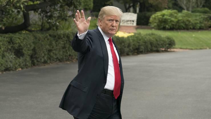 Adieu: Die USA und ihr Präsident Donald Trump verlassen die UNESCO Ende 2017.