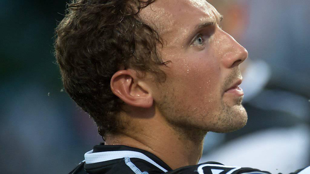 Alexander Gerndt schrieb mit einem Tor, zwei Lattenschüssen und einer verletzungsbedingten Auswechselung praktisch im Alleingang die Geschichte des 1:0-Heimsiegs von Lugano gegen Sion