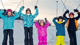 Skifahren in Wegenstetten