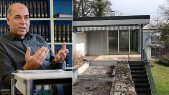 Denkmalpfleger Stefan Blank zur Ludervilla. Deren geplanter Abriss gibt zu Reden.