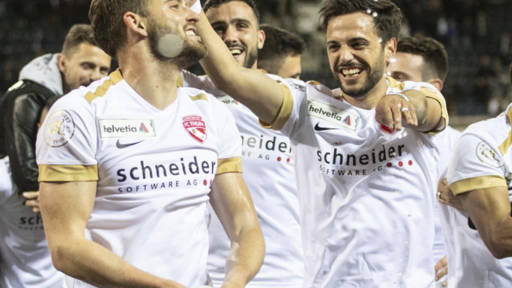 Die Thuner schafften erstmals seit 64 Jahren wieder den Einzug in den Cupfinal