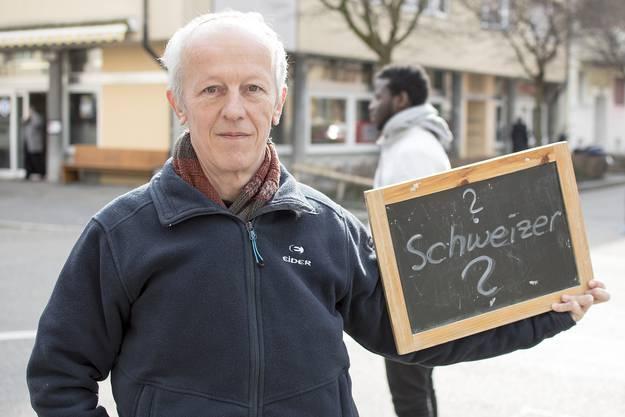Racial Profiling bei der Basler Polizei, Porträt von Marc Oestreicher