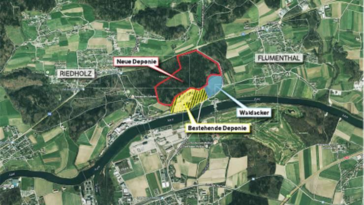 Die Richtplananpassung für die Erweiterung der Inertstoff-Deponie im Attisholzwald lag in Flumenthal und Riedholz bis Dienstag öffentlich auf. 46 teils kritische Mitwirkungseingaben gingen ein.