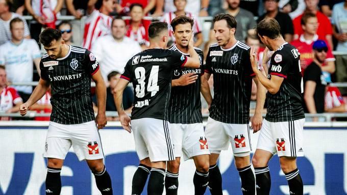 Champions League Quali Eindhoven - Basel, 23.07.2019