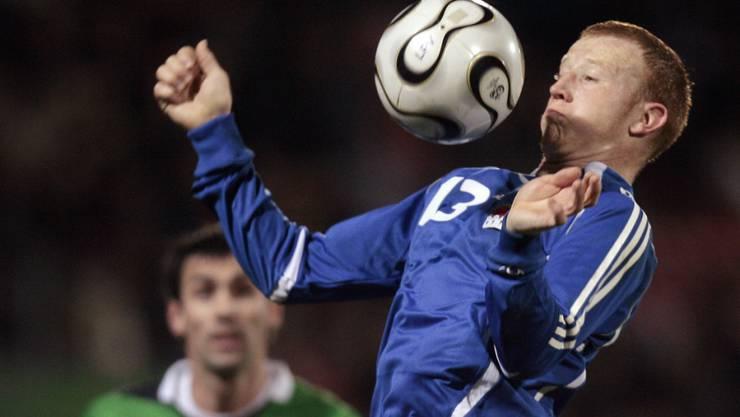 Martin Büchel machte für Liechtenstein 72 Länderspiele