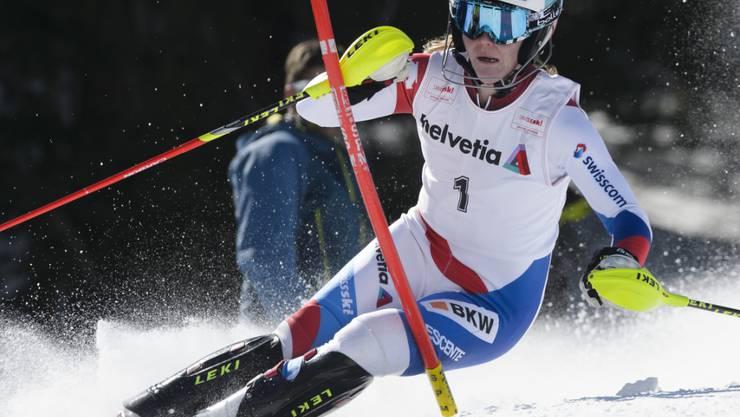 Neue Schweizer Meisterin in der Kombination: die Sarganserin Rahel Kopp