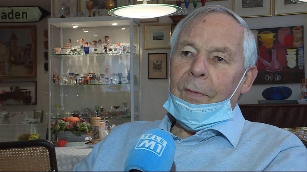 Zurückgekämpft: Ein Badener lag wegen Corona drei Wochen lang im Koma