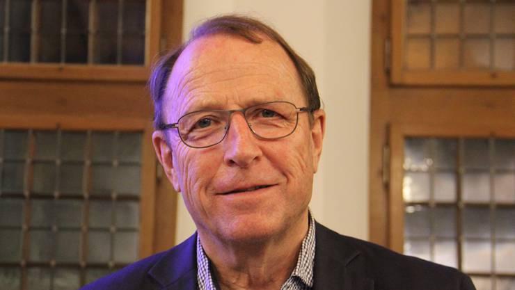 Peter Beyeler, der Alt-Regierungsrat und Präsident der IG Aargauer Altstädte will Zukunft für die Altstadt.