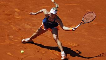 Angelique Kerber stiess in Madrid in die Achtelfinals vor