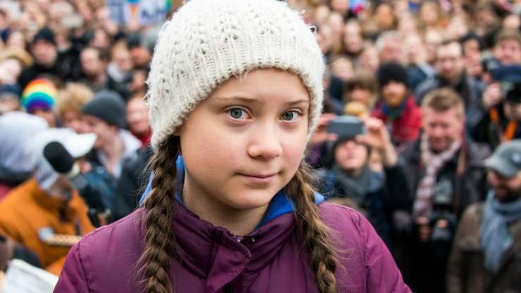 Greta Thurnberg.