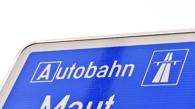 Der deutsche Verkehrsminister will eine Maut einführen (Symbolbild)