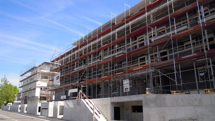 An der St. Urbanstrasse entstehen 26 Alterswohnungen. Die Stadt will diese Wohnungen untervermieten.