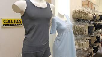 2018 lief es dem Wäschehersteller Calida gut (Archivbild).