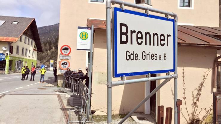 Sicherheitsmassnahme wegen EU-Innenministertreffen: Österreich führt ortsweise wie etwa am Brenner für fünf Tage wieder Grenzkontrollen ein. (Archivbild)