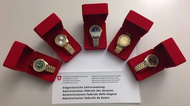 Gefälschte Luxus-Uhren beschlagnahmt