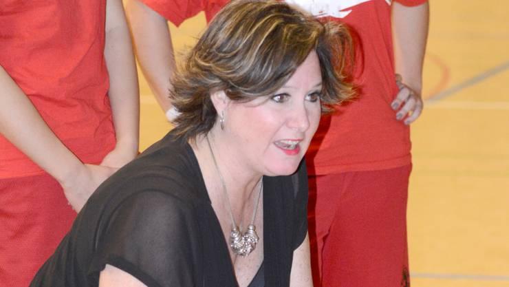Whales-Trainerin Ina Nicosia-Schelker will die Meisterschaft gewinnen.
