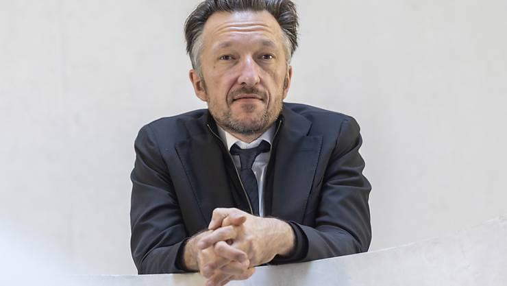 Höchste literarische Ehren: Schriftsteller Lukas Bärfuss in Darmstadt vor der Verleihung des Georg-Büchner-Preises.