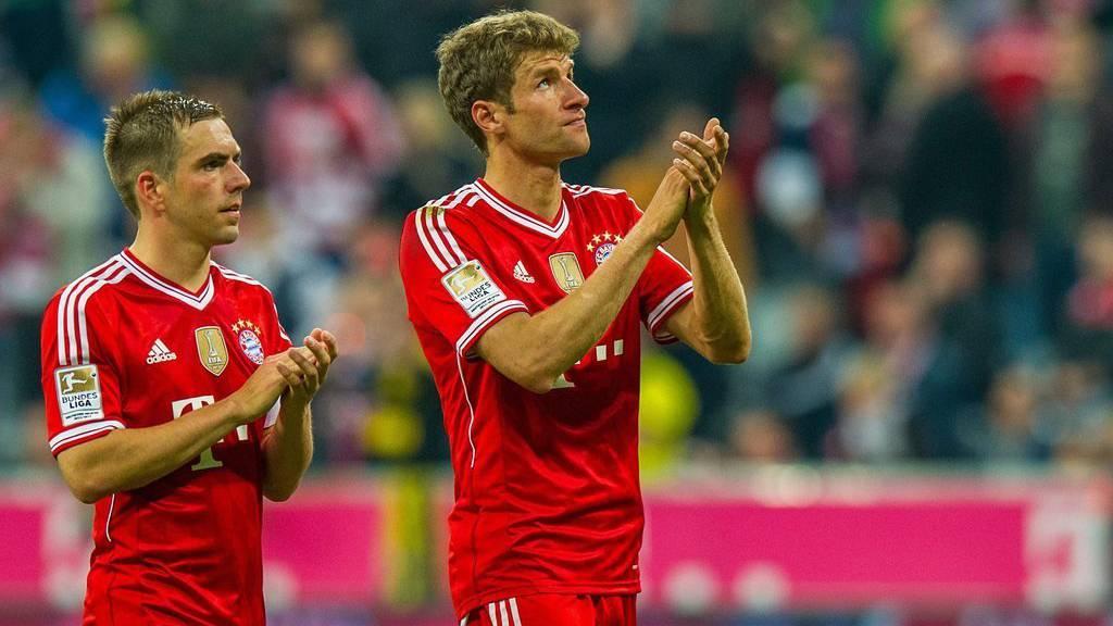 Pflicht erfüllt, Weissbier kalt gestellt, Bayern wird Meister.