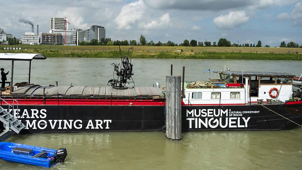 Leinen los für das Jubiläums-Schiff des Tinguely-Museum