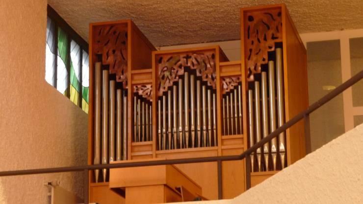 Die Orgel in der Guthirtkirche in Lohn-Ammannsegg ist für die Organisten nicht befriedigend zu spielen