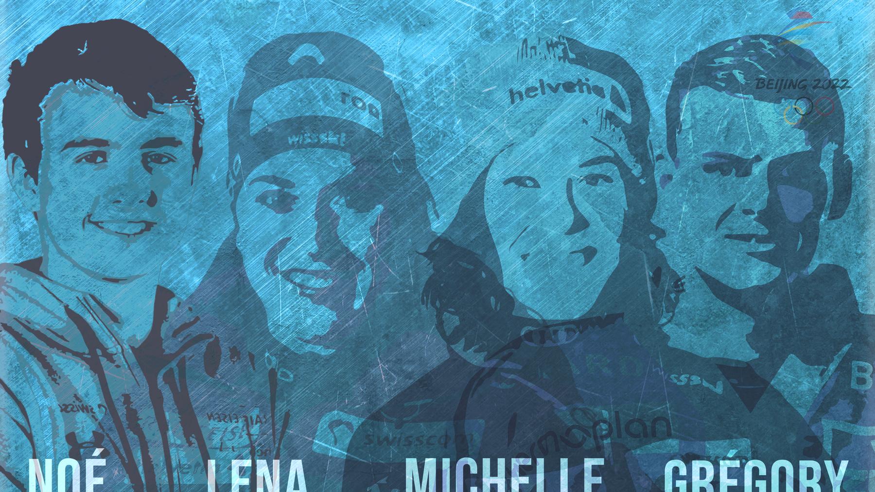 PilatusToday begleitet vier Spitzensportler auf ihrem Olympia-Traum.