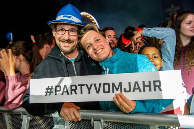 Argovia Fäscht 2019 Besucher