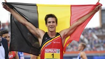 Thomas Van der Plaetsen gehört zur belgischen Olympia-Delegation. (Symbolbild)