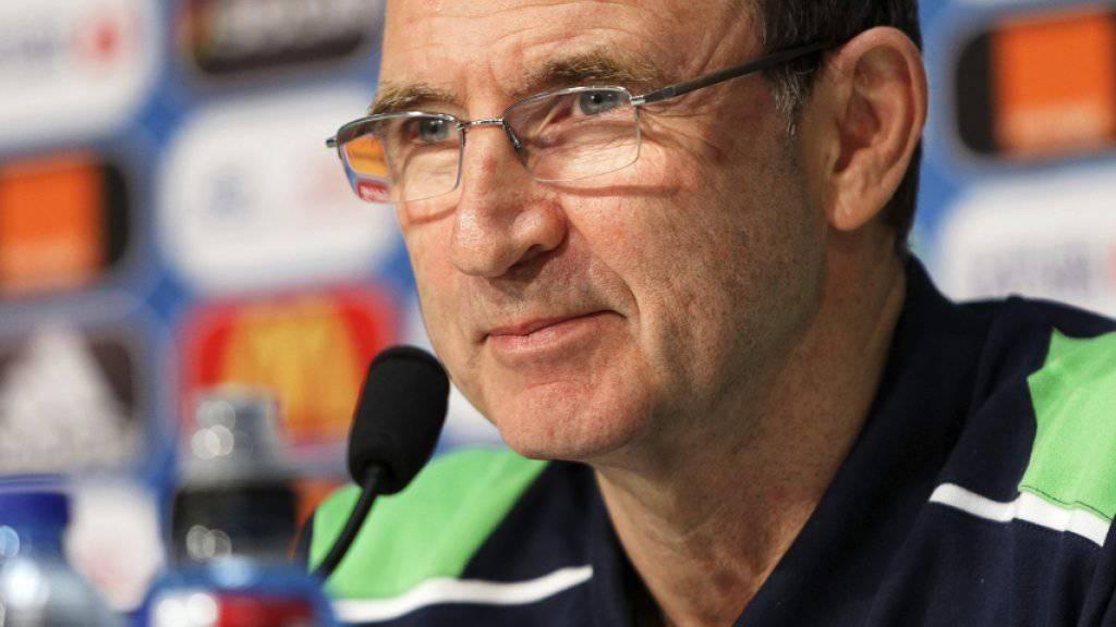 Martin O'Neill - der Coach der Iren