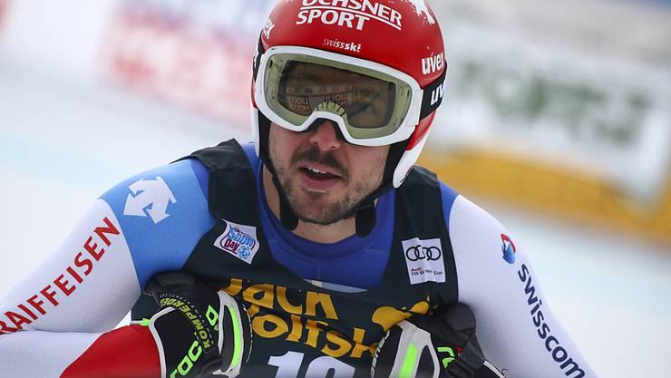 Carlo Janka war im einzigen Training in Garmisch als Neunter bester Schweizer