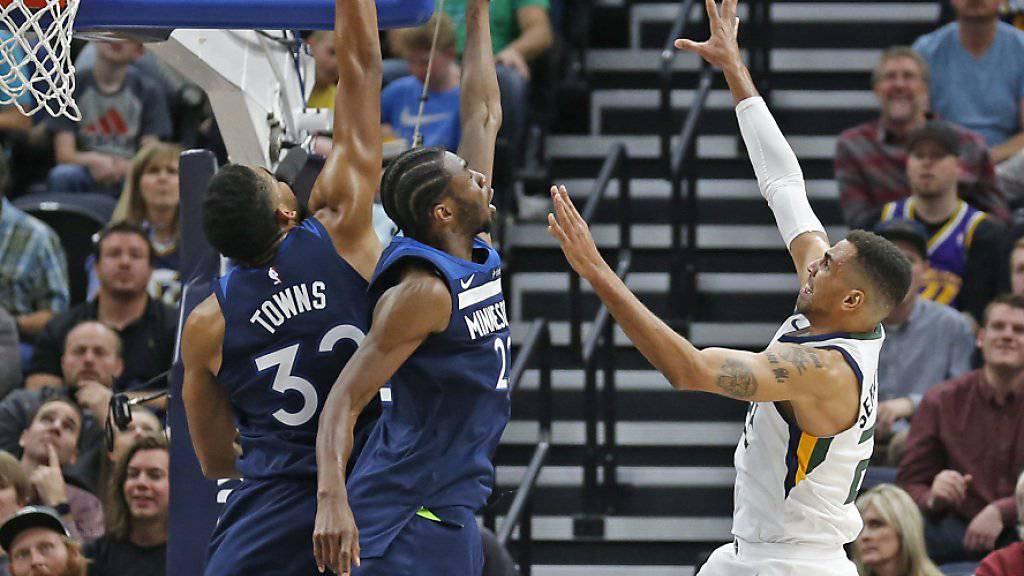 Thabo Sefolosha und die Utah Jazz befinden sich in einer Baisse