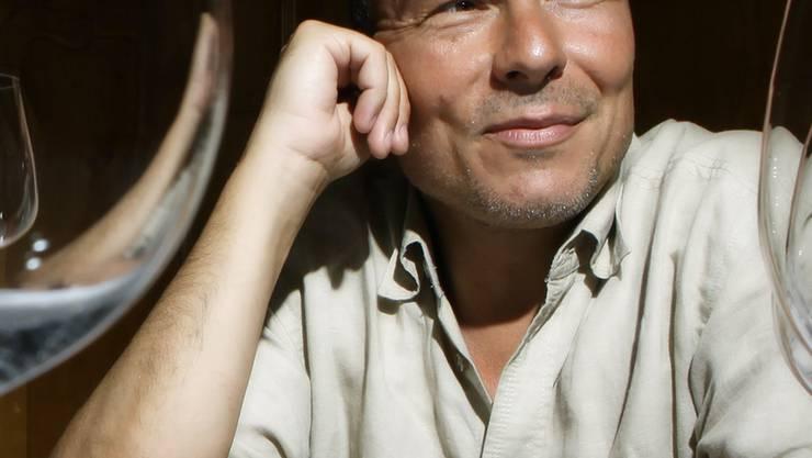 Der Zofinger Komponist Dieter Ammann im Federal Zofingen am 15. Juli 2010. Copyright: Chris Iseli
