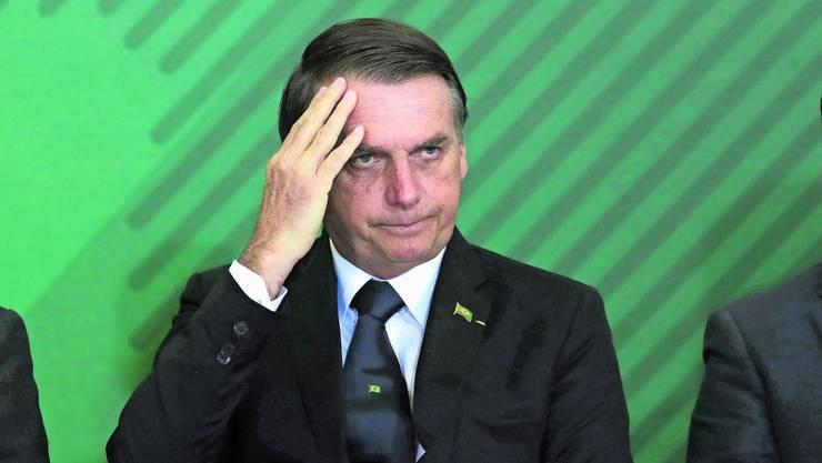 Der brasilianische Präsident Jair Bolsonaro gilt als Rechtspopulist. Er wettert gerne gegen Minderheiten wie Homosexuelle.