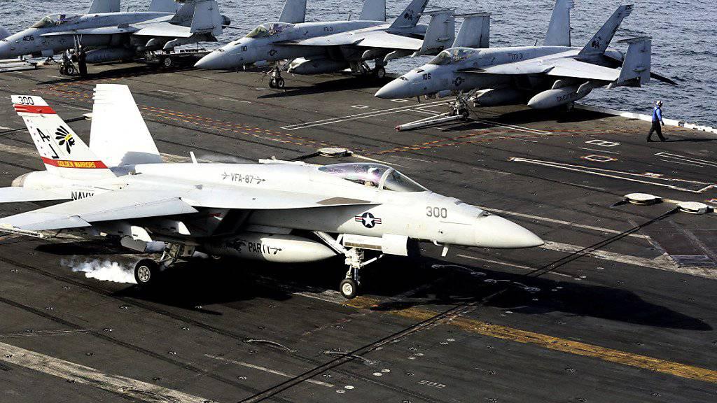 Kanada kauft keine neuen F-18-Kampfflugzeuge von den USA sondern schafft sich gebrauchte Maschinen aus Australien an. (Archivbild)
