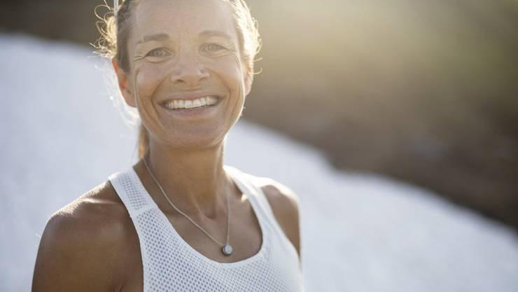 Ultramarathonläuferin Jasmin Nunige bezeichnet sich als Glückskind.