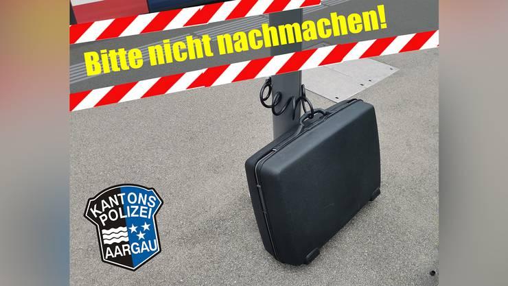Auf Facebook erklärte die Kantonspolizei Aargau, warum es zum Einsatz beim Bahnhof Würenlos kam. (Archivbild)