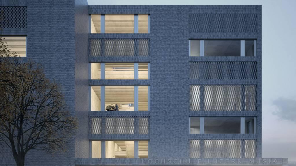 Baugesuch für Luzerner Musikhochschule