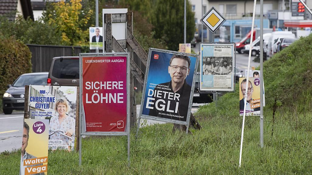Der freie SP-Sitz im Aargauer Regierungsrat wird wohl erst im zweiten Wahlgang vergeben.