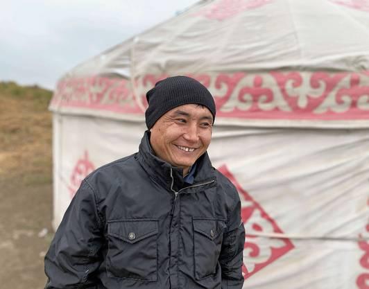 Guide Rustem weiss viel über kasachische Kultur und Geschichte – und ist stolz auf sein Land.