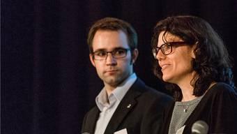 Titus Meier und Barbara Horlacher buhlen in den nächsten Wochen um die Gunst der Wähler.