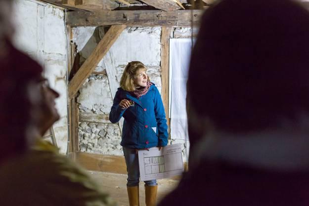 «Archäologie am Haus» - Führung von Cecilie Gut Impressionen vomKulturerbetag in Schneisingen