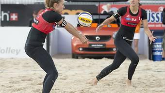 Nina Betschart (links) und Tanja Hüberli überzeugen ein weiteres Mal